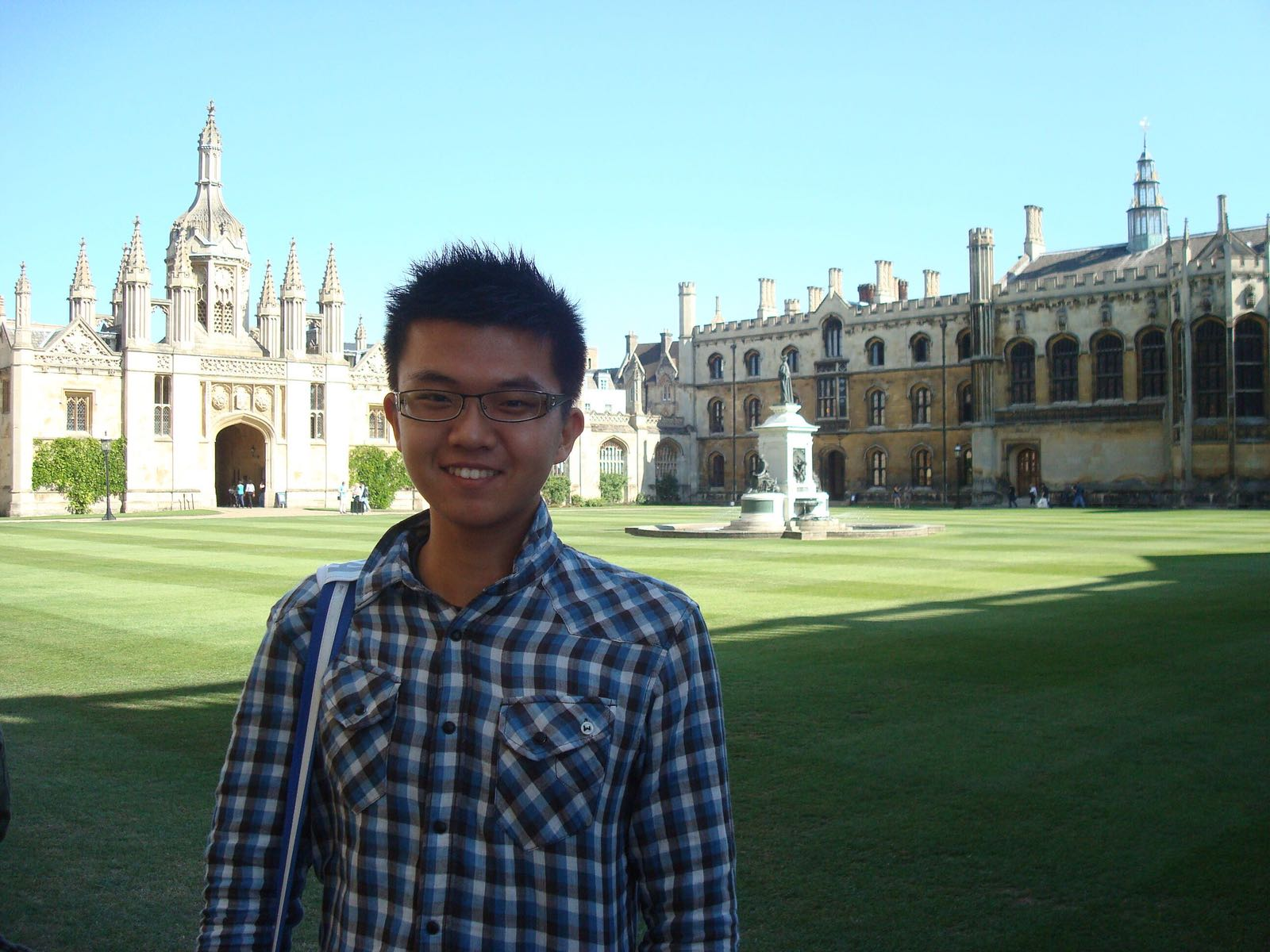 Ms Tham's student Wang Hefu (University of Cambridge)