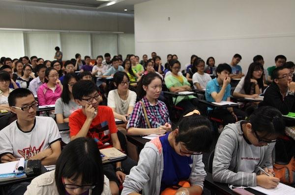 O Level English Exam Strategies Workshop was a full house